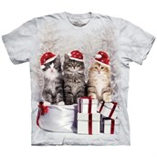 Presents Cats T-shirt Adult