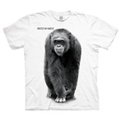 Chimp Protect My Habitat T-shirt