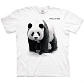 PANDA PROTECT MY HOME T-shirt, Adult
