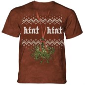 Mistletoe Hint T-shirt Adult