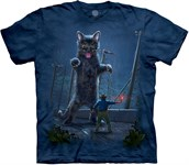 Jurrasic Kitten t-shirt