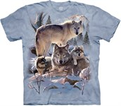 Wolf Family Mountain t-shirt