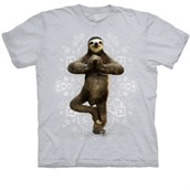 Namaste Sloth T-shirt Adult