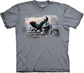 Biker For Life t-shirt, Adult 2XL