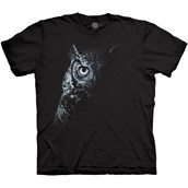 Shadow Owl T-shirt Adult