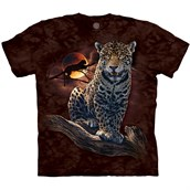 Blood Moon Leopard T-shirt Adult