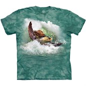 Surfin Sea Turtle T-shirt