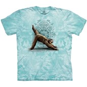 3 Leg Downward Sloth T-shirt Adult