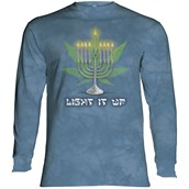 Lit Hanukkah Long sleeve
