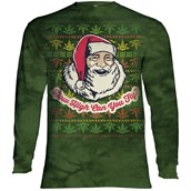 Fly High Santa Long sleeve