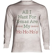 Ho Ho Hos Long sleeve