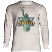Lady Liberty Hanukkah Long sleeve