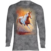 Sunset Gallop Long Sleeve Adult