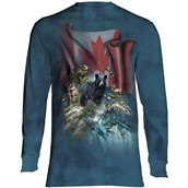 Canada The Beautiful Long sleeve Adult