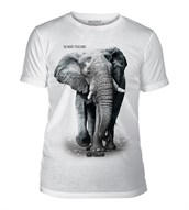 Elephant No Poaching Mens Triblend