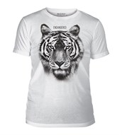 Tiger Endangered Mens Triblend