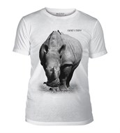 Rhino I Am Not a Trophy Mens Triblend