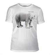 Polar Bear Protect Home Mens Triblend