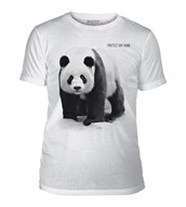 Panda Protect My Home Mens Triblend, Adult XL