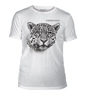 Leopard Extinction Mens Triblend