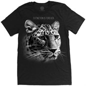 Leopard Extinction Is Forever Mens Triblend T-shirt