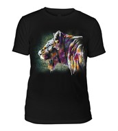Painted Lion Mens Triblend, SORT