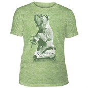 Drink and Drive Mens Triblend T-shirt, Green