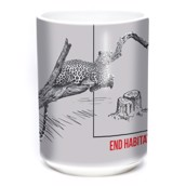 Habitat Jaguar Ceramic Mug, 4,4 dl.