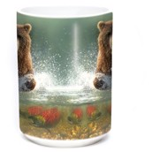 Lucky Fishing Hole Ceramic mug 4,4 dl.