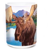Monarch of Forest Ceramic mug 4,4 dl.