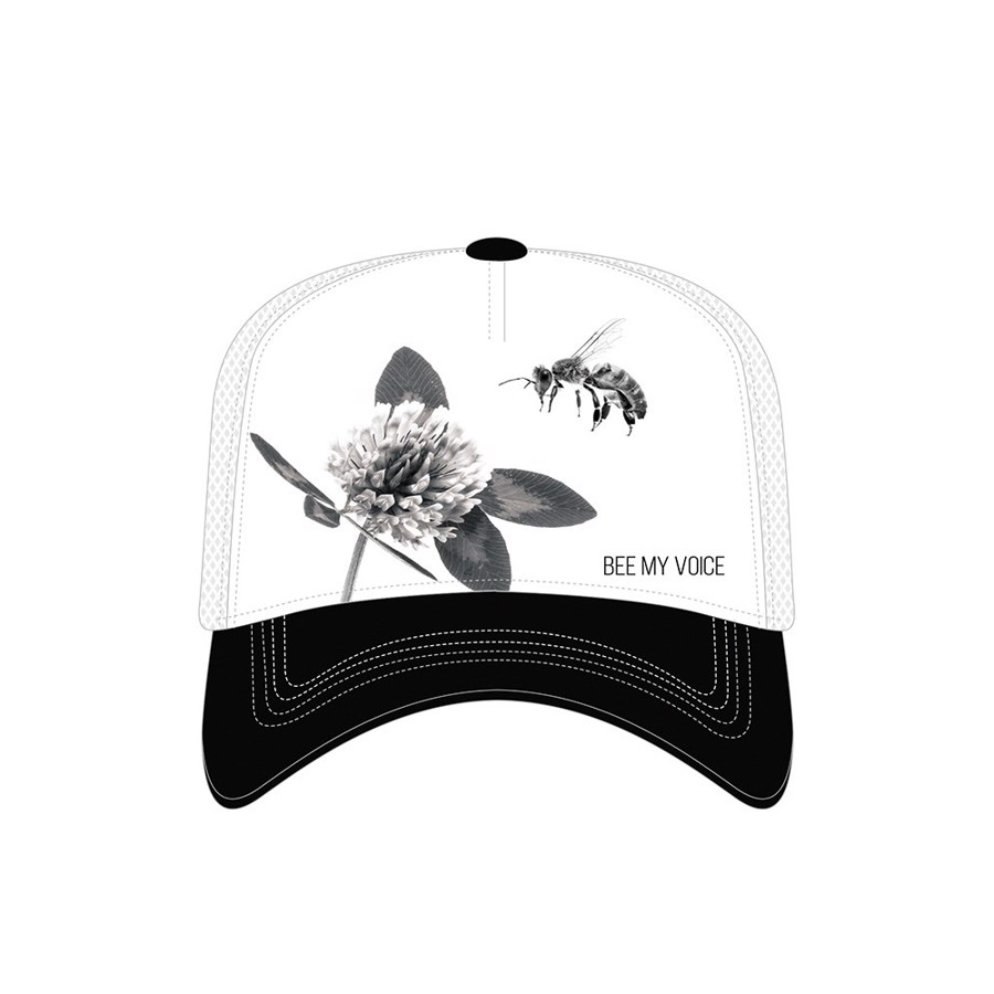 Clover Bee My Voice Trucker Cap