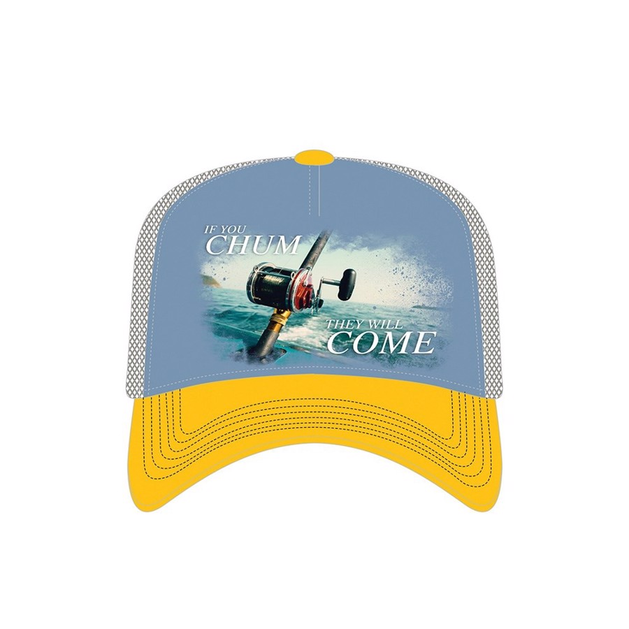 Chum They Come Trucker Cap