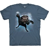 Under Water Dog Duchess T-shirt
