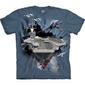 Aircraft Carrier Breakthrough t-shirt