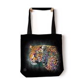 Painted Cheetah Tote Bag