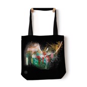 Painted Rhino Tote Bag