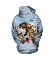 Dog Selfie child hoodie