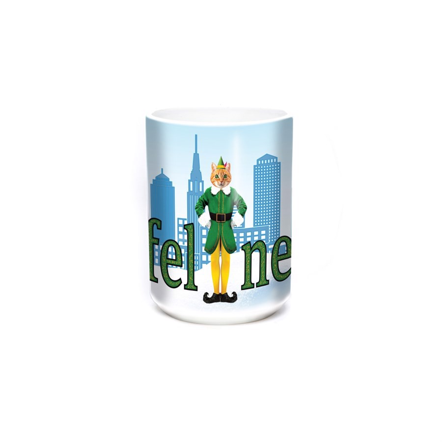 Elf Cat Ceramic Mug