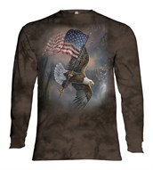 Flag-bearing Eagle long sleeve