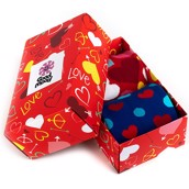 Good Mood adult socks - FULL OF LOVE GIFT BOX, 2 pairs, size 39-42