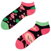 Good Mood adult low socks - FLAMINGO