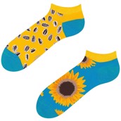 Good Mood adult low socks - SUNFLOWER