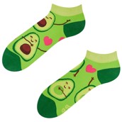 Good Mood adult low socks - AVOCADO LOVE