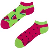 Good Mood adult low socks - WATERMELON