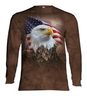 Independence Eagle long sleeve, Adult Large