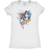 Comics Wonder Woman, Ladies T-shirt Adult