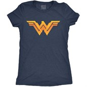 Justice League Logo, Ladies T-shirt Adult