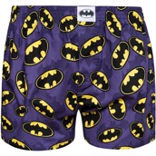 DC Comics Mens Loose Boxers - BATMAN LOGO