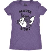 Always Right Ladies T-shirt