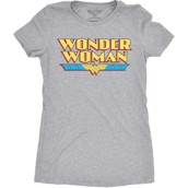 Wonder Woman Logo Ladies T-shirt